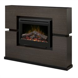 Dimplex Linwood Mantel with Electric Firebox (Log Set)