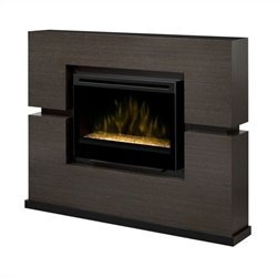 Dimplex Linwood Mantel with Electric Firebox (Glass Ember Bed)
