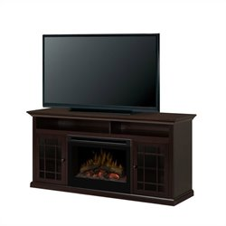 Dimplex Hazelwood Media Consoles with Electric firebox (Log Set)