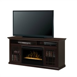 Dimplex Hazelwood Media Consoles Electric firebox (Glass Ember Bed)