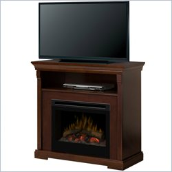 Dimplex Thorton Media Console with Electric firebox (Log Set)