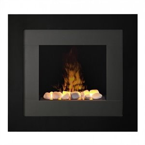 Dimplex Redway OptiMyst Wall Mount Fireplace in Black