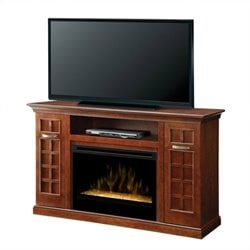 Dimplex Yardley Media Console with Tmbled Glass Ember Bed