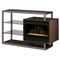 Dimplex Hadley Media Console with Electric Firebox (Glass Ember Bed) - One Firebox