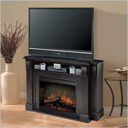 Dimplex Symphony Media Langley TV Stand with Electric Fireplace in Espresso