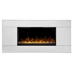 Dimplex Reflections Wall Mount Electric Fireplace in Mirror