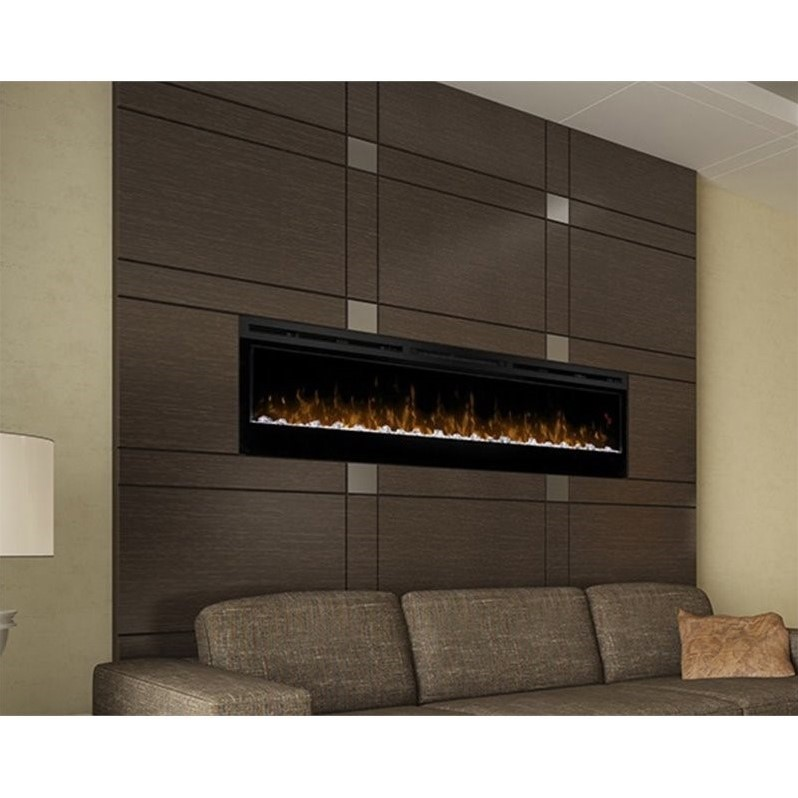 Dimplex Prism 74 Quot Wall Mount Linear Electric Fireplace