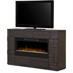 Dimplex Markus Glass Ember Bed Electric Fireplace Mantel in Boston
