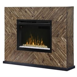 Dimplex Harris Electric Fireplace Mantel with Acrylic in Cassia