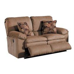Catnapper Impulse Reclining Loveseat in Cafe and Espresso