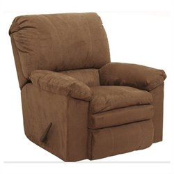 Catnapper Impulse Rocker Fabric Recliner in Cafe