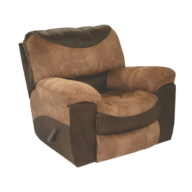 Catnapper portman chaise rocker recliner chair in saddle for Catnapper chaise