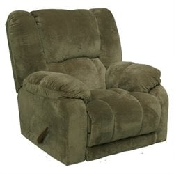 Catnapper Hogan Inch Away Wall Hugger Recliner Chair in Sage