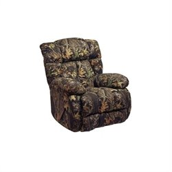 Catnapper Laredo Chaise Rocker Recliner Chair in Camouflage