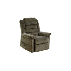 Catnapper Soother Power Lift Full Lay-Out Recliner Chair in Woodland