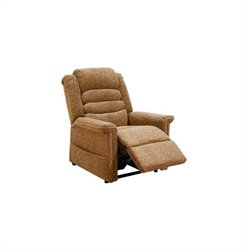 Catnapper Soother Power Lift Full Lay-Out Chaise Recliner Chair in Autumn