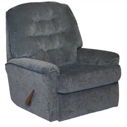 Catnapper Piper Small Scale Rocker Recliner Chair in Sky