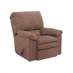 Catnapper Impulse Rocker Fabric Recliner in Godiva