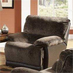 Catnapper Escalade Power Chaise Glider Recliner in Chocolate