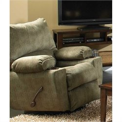 Catnapper Gavin Swivel Glider Recliner in Foliage