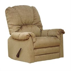 Catnapper Winner Oversized Rocker Recliner Chair in Linen