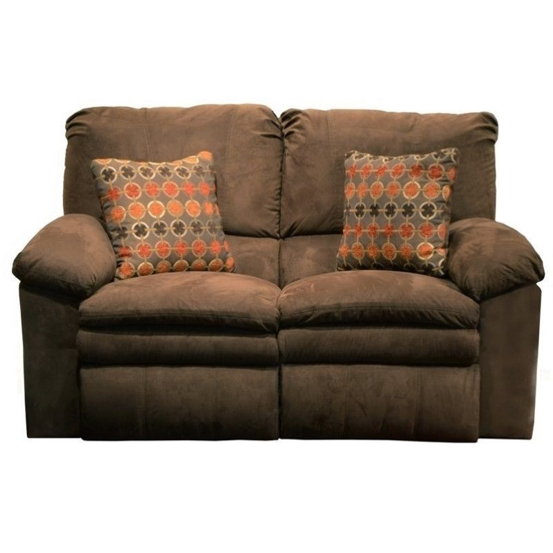 Catnapper Impulse Power Reclining Fabric Loveseat In Godiva 61242213319243319
