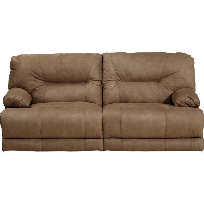 Catnapper noble power lay flat reclining fabric sofa in Fabric sofas and loveseats