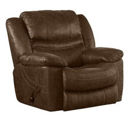 Catnapper Valiant Swivel Glider Recliner in Elk