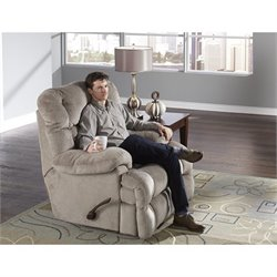 Catnapper Concord Power Lay Flat Recliner in Smoke