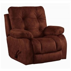 Catnapper Watson Lay Flat Recliner in Burgundy
