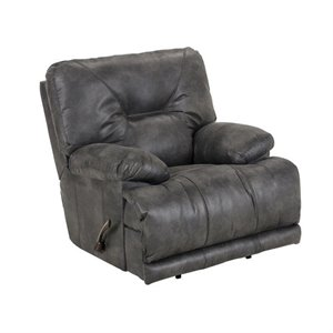 Voyager Lay Flat Recliner in Slate