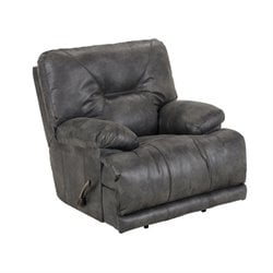 Catnapper Voyager Lay Flat Recliner in Slate