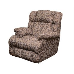 Catnapper Duck Dynasty Lay Flat Fabric Recliner in Duck Camo