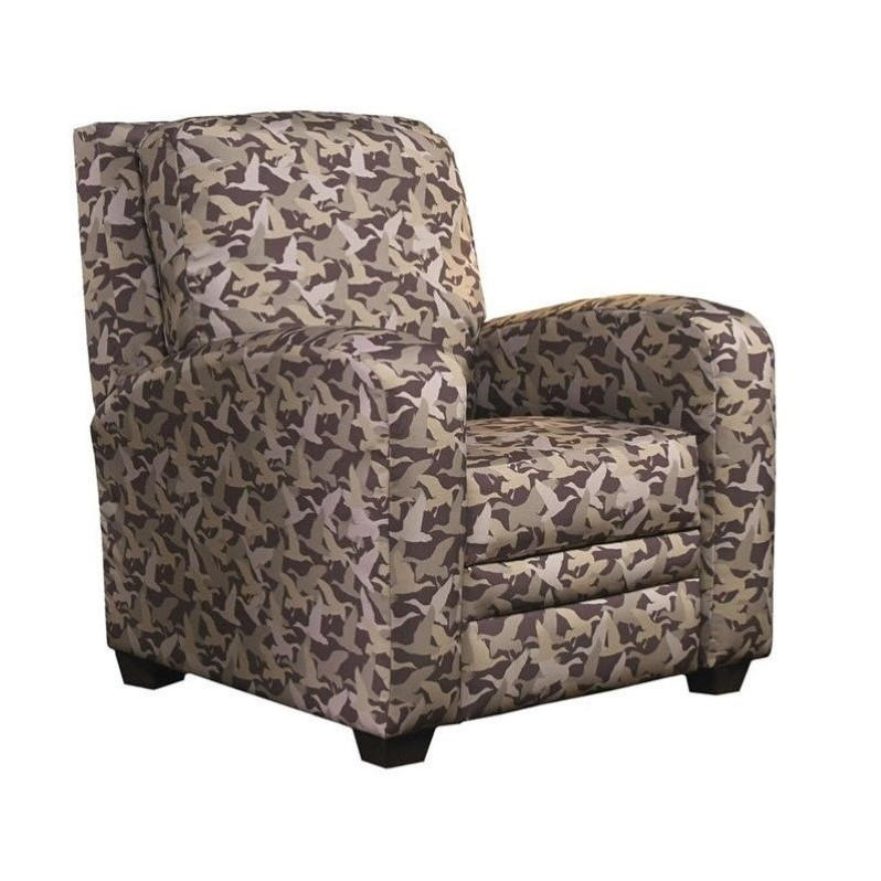 Catnapper duck dynasty mallard creek handle free recliner for Camo chaise lounge