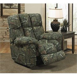 Catnapper Duck Dynasty Chimney Rock Lay Flat Recliner in Moss