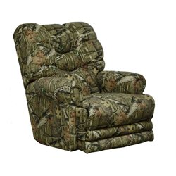 Catnapper Duck Dynasty Big Falls Lay Flat Recliner in Moss