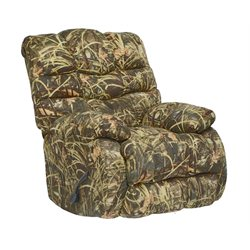 Catnapper Duck Dynasty Flat Rock Rocker Recliner in Green