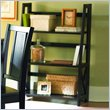 ADD TO YOUR SET: Homelegance Britanica Black Folding Bookcase