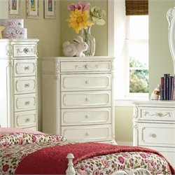 Trent Home Cinderella Chest in Ecru Finish