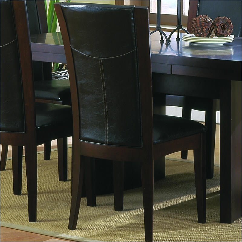 Homelegance Daisy Espresso Side Chair (Set of 2)