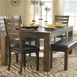 Trent Home Eagleville Dining Table with Butterfly Leaf