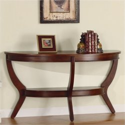 Homelegance Avalon Sofa Table in Cherry