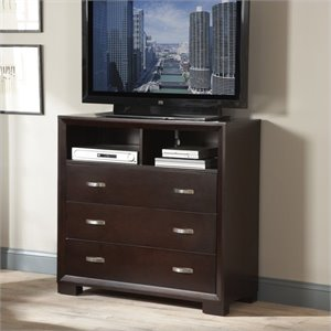 Trent Home Astrid TV Chest in Espresso