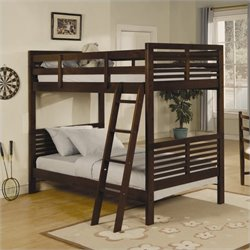 Trent Home Paula II Twin Bunk Bed in Cherry