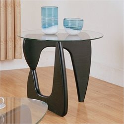 Trent Home Chorus End Table in Black