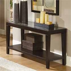 Homelegance Vincent Sofa Table in Espresso
