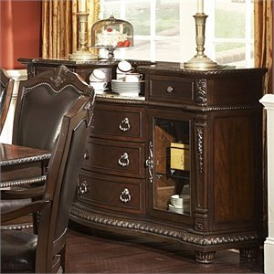 Trent Home Palace Server in Rich Brown