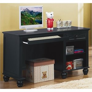Trent Home Sanibel Computer Desk in Black
