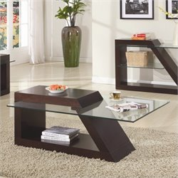 Trent Home Jensen Cocktail Table in Espresso