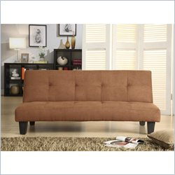 Homelegance Albert Elegant Lounger in Brown